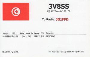 3V8SS Tunisia