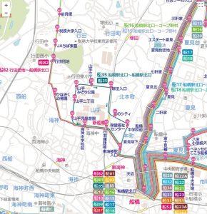 バス路線図_船35系統