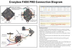 Crazybee_F4DX_Pro_DSMX_バインド方法